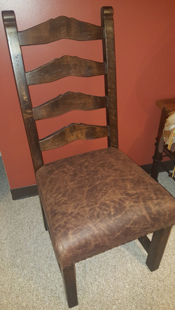 Rocky Top Ladder Back Chair