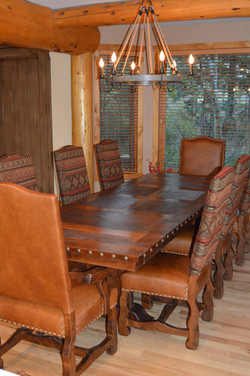 Hacienda 8 foot table with extensions