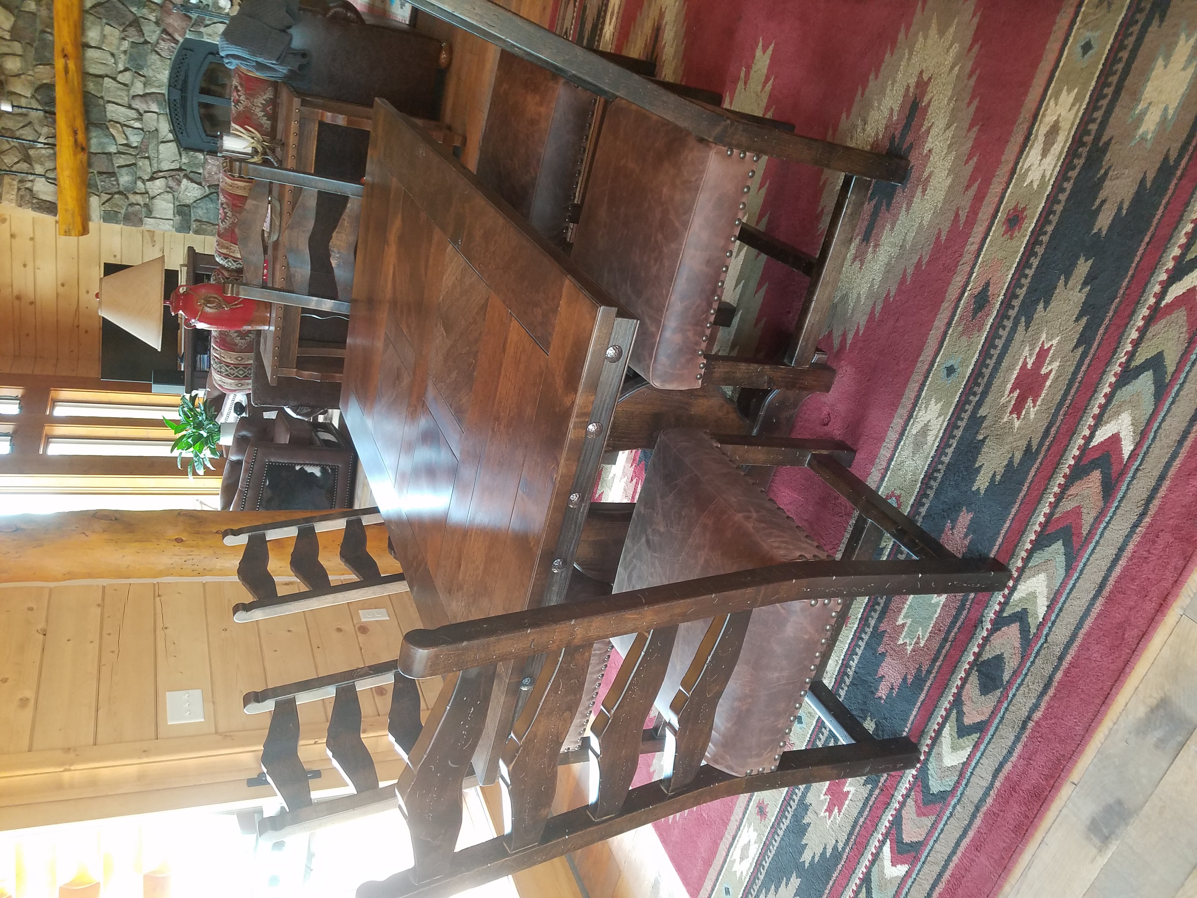 Rocky Top Ladder Back Chairs
