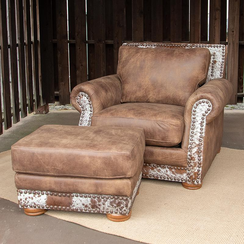 Jefferson Chair & Ottoman