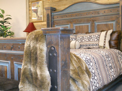 Western style bed