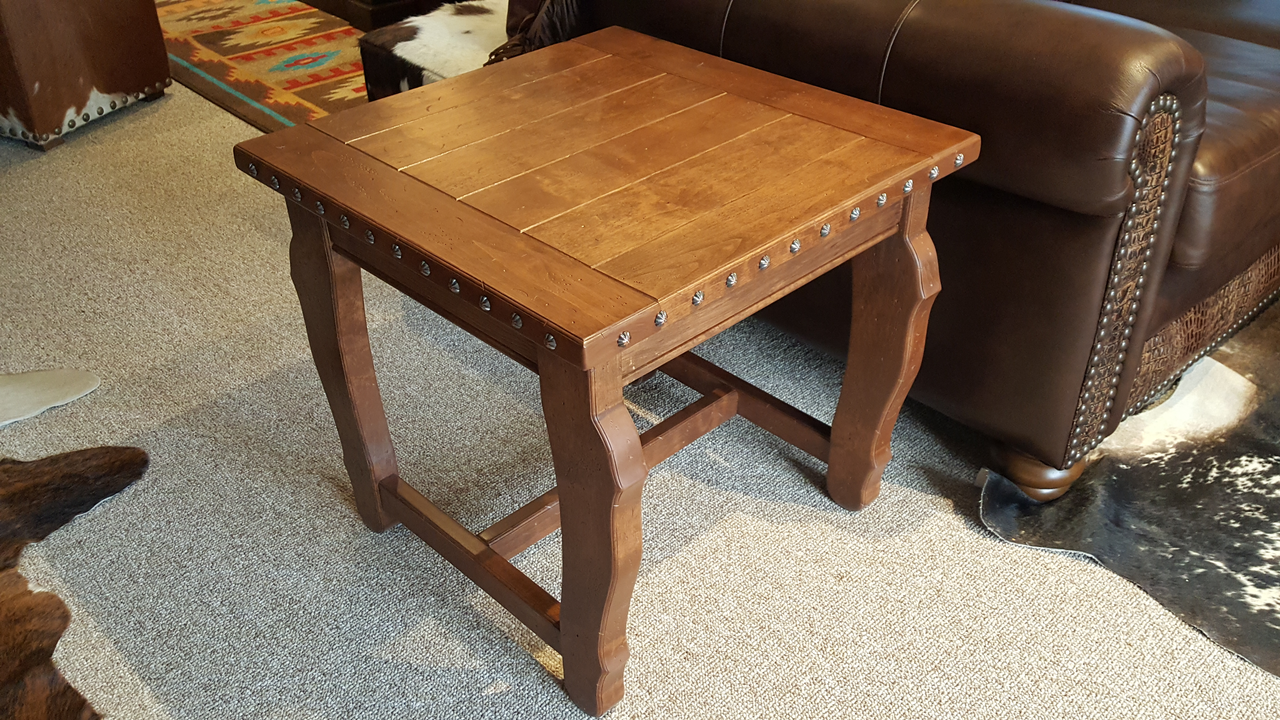 Hacienda Square End Table