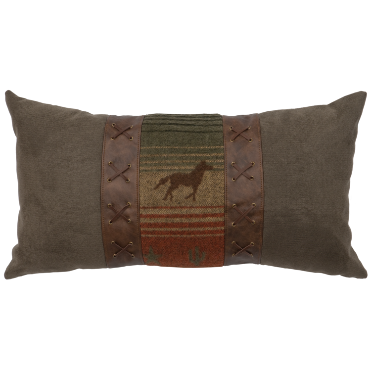 Mustang Canyon Accent Pillow