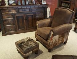 Lexington Chair and Ottoman