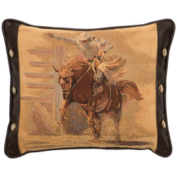 Tombstone Bronco Pillow