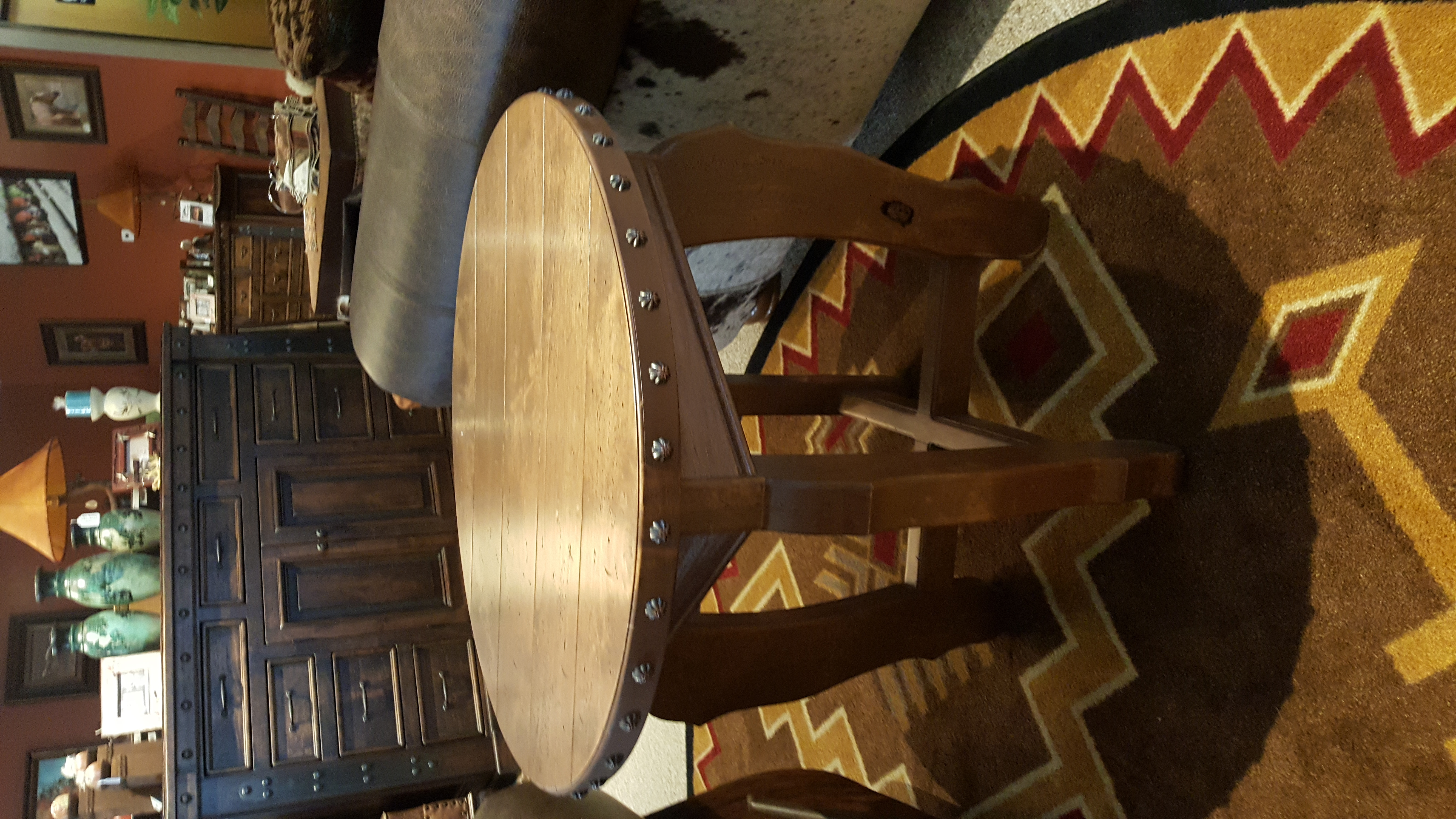 Hacienda Round End Table