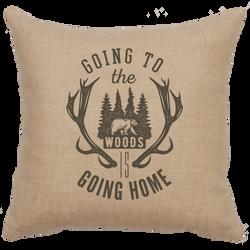 Going Home Linen Pillow