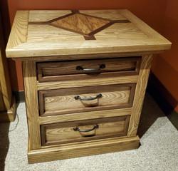 Telluride 3-drawer Nightstand