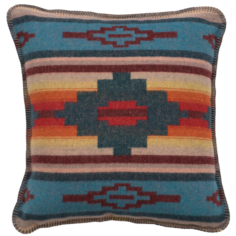 Crystal Creek Fabric Pillow