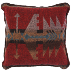 Wooded River Wool Blend Pillows