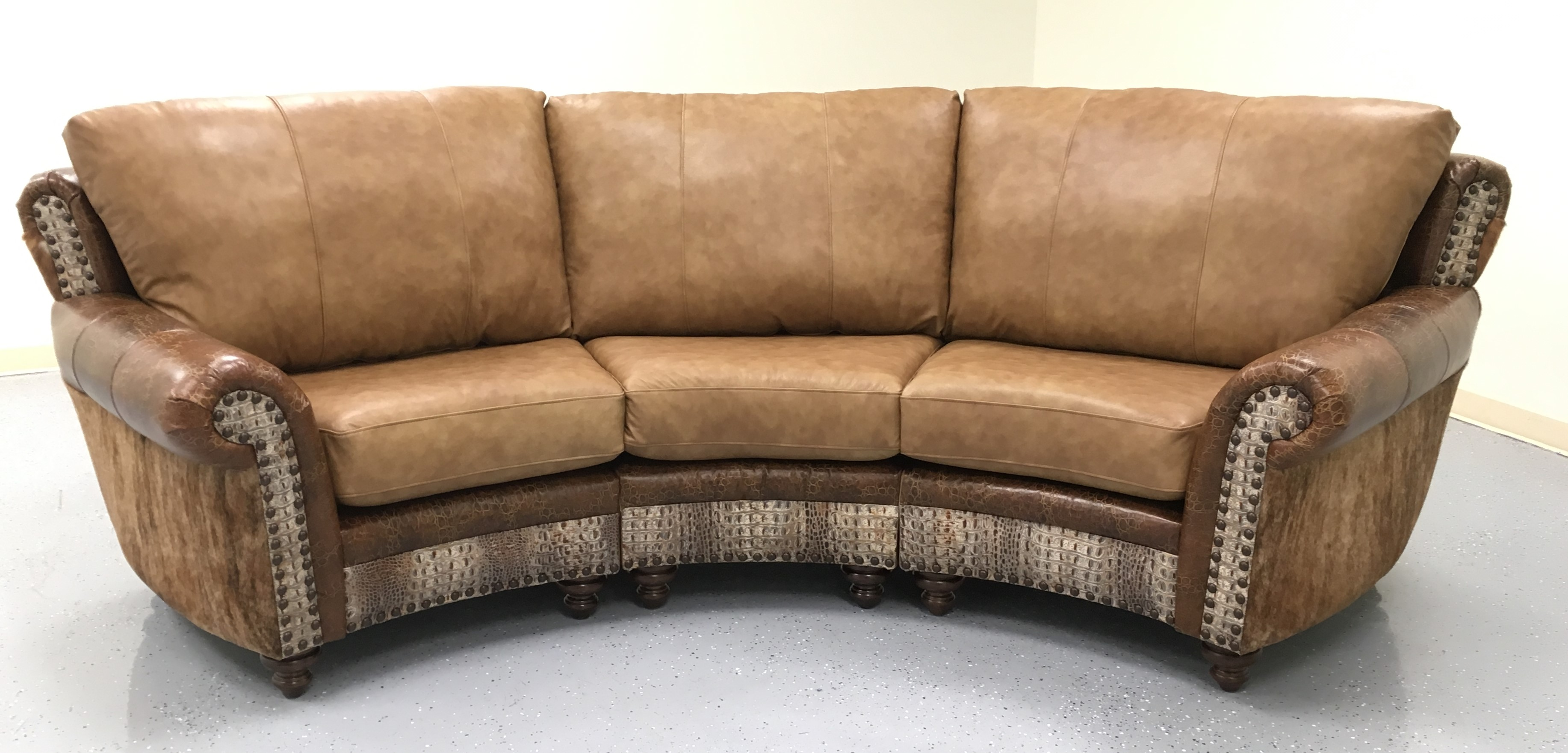 Highlander Curved Sofa