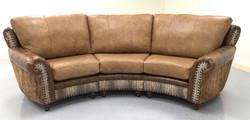 Highlander Curved Sofa