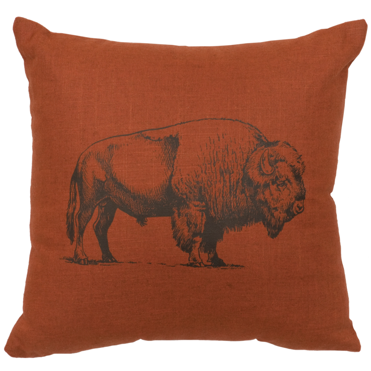 Buffalo Linen Pillow