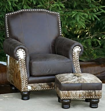 Lexington Chair & Ottoman