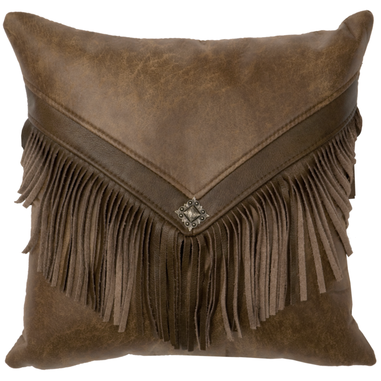 Cascada Faux Leather Pillow