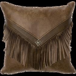 Cascada Faux Leather Pillow