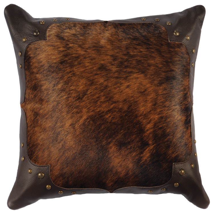 Brindle Hide Pillow