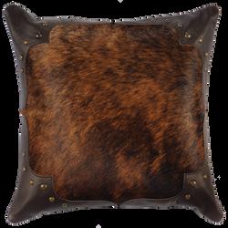 Brindle Hide Pillow