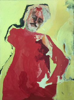87 William Acrylic 36 x 48 SOLD