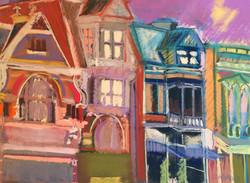 81 Mainstrasse II Pastel 16 x 22