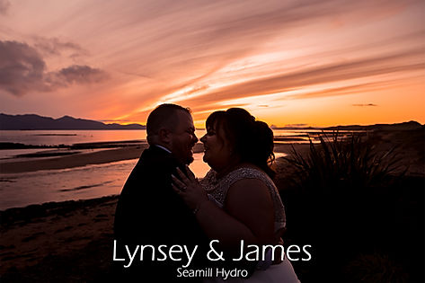Lynsey & James at the Seamill Hydro wedding photography