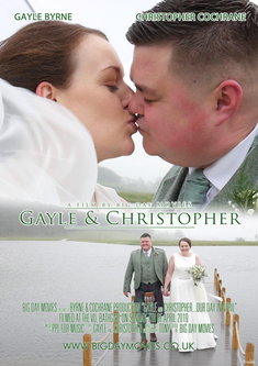 Gayle & Christopher - Wedding Videography at The Vu, Bathgate