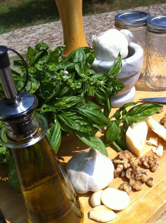 Of Pesto and Piccalilli