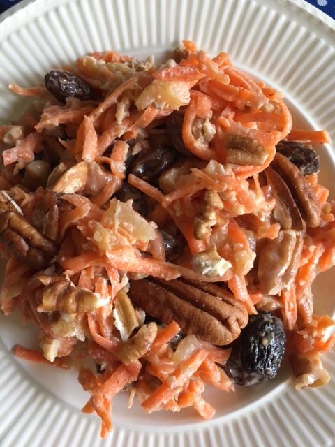 Lagniappe: Carrot Pineapple Pecan Salad