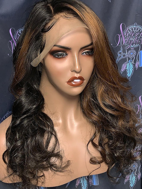 """""""Sabrina"""" 13x6 Frontal Wig  (allow 5-9 days to receive)"""
