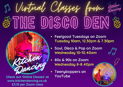 Online Kitchen Dancing classes Nov 20 .p