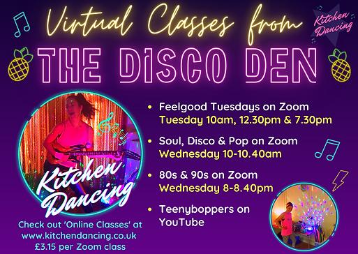 Online Kitchen Dancing classes Nov 20 .p