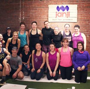 Dana-Farber Boston Marathon Fundraiser Workout at Janji