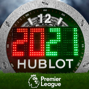 宇舶錶成為英超聯賽官方計時/HUBLOT Becomes The Premier League's Official Timekeeper