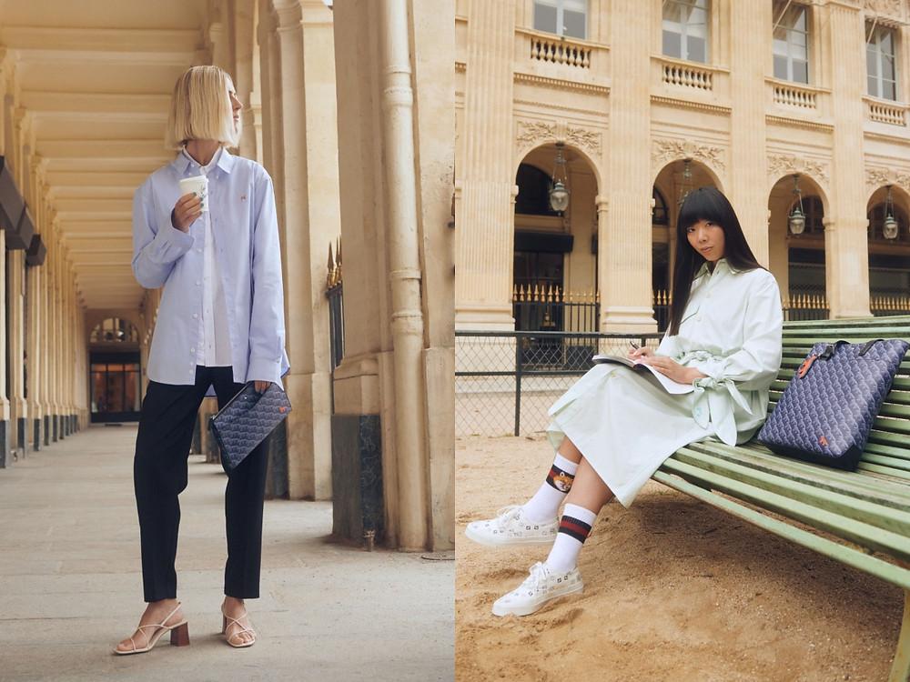 (左)荷蘭時尚部落客Linda Tol (右) 英國時尚部落客Susie Lau