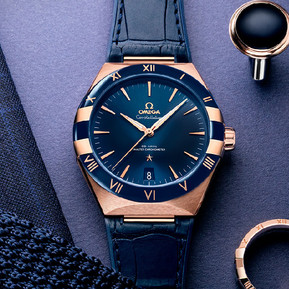 OMEGA的新一代星座系列男錶極致雋永/OMEGA's new constellation collection  is extremely timeless