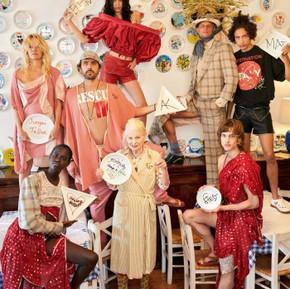 來自地中海的禮物 Vivienne Westwood 春天形象照/ Gifts from Mediterranean, Vivienne Westwood's  SS17 Campaign