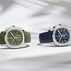 再展悠閒雅致 百達翡麗推出全新Aquanaut計時系列/ Patek Philippe unveiled 2 new AQUANAUT chronograph