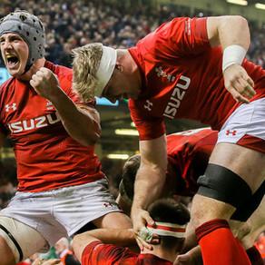2019 六國賽第三輪:無人能敵的威爾斯巨龍/ Six Nations Round 3, The unrivalled Red Dragon, Wales