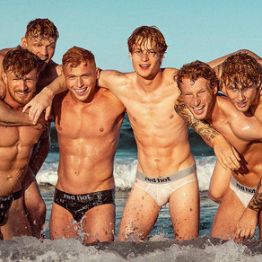 歐洲男孩, 2020紅髮月曆 / European Boys, REDHOT 2020 Calendar