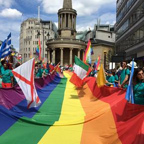 倫敦散發的彩色光芒 / Pride in London 2017