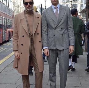 星光熠熠的倫敦男裝週/ London Fashion Week was star-studded