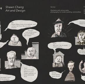 旅英插畫家 Shawn Chang, An Illustrator