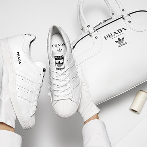 Prada x Adidas 全球純白限量聯名款/ Prada and Adidas Sneakers Collaboration