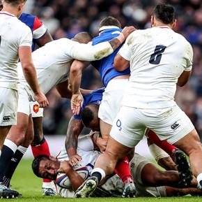 2019六國賽第二輪:英格蘭主場強壓法國隊/ Six Nations Round 2, England's suppress