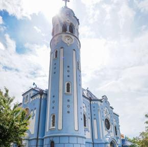 新藝術主義:藍色教堂 / Art Nouveau : Blue Church