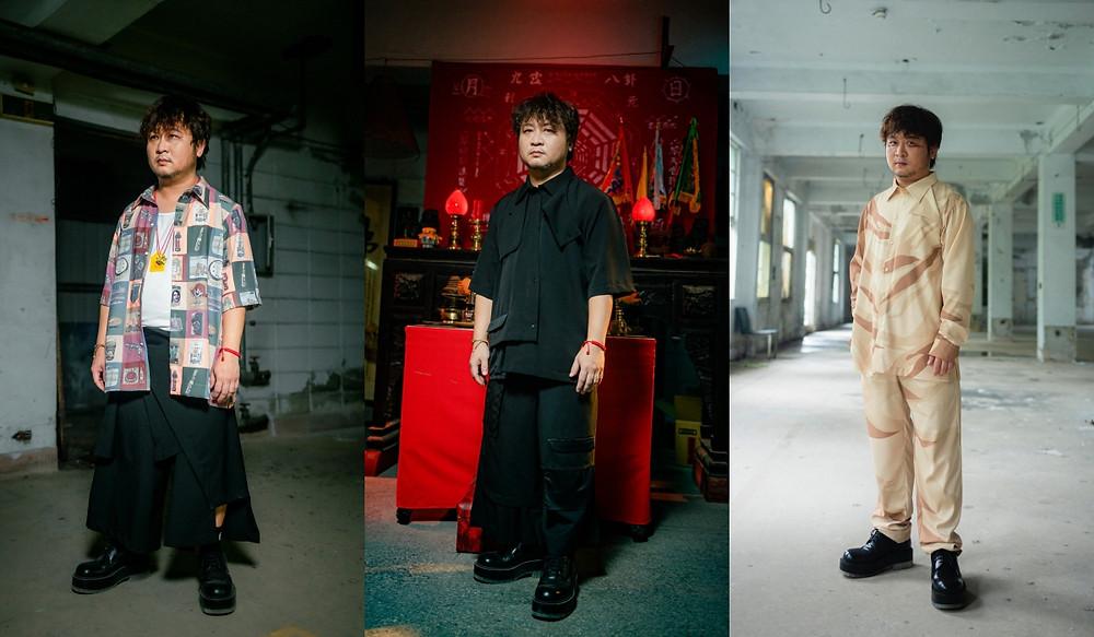 納豆著 INF SS22/ Nadow Lin wore INF SS22