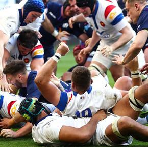 2019六國賽第三輪:法國隊主場狂壓蘇格蘭/ Six Nations, Round 3, France defeated Scotland at home