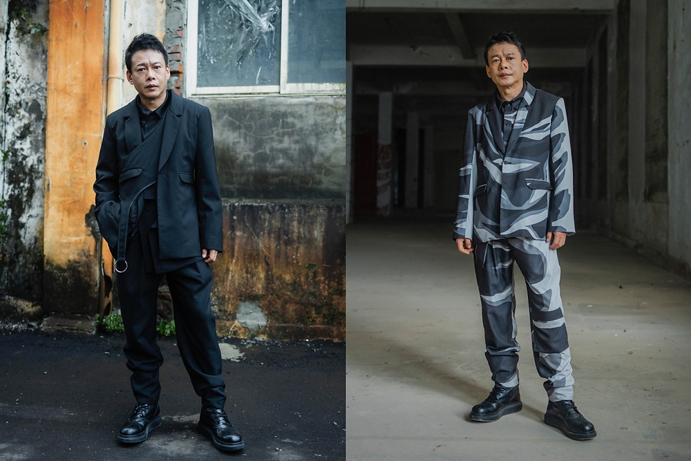李康生著 INF SS22/ Lee Kang-Sheng wore INF SS22