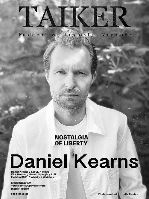 TAIKER Magazine臺客雜誌  ISSUE07 Daniel Kearns
