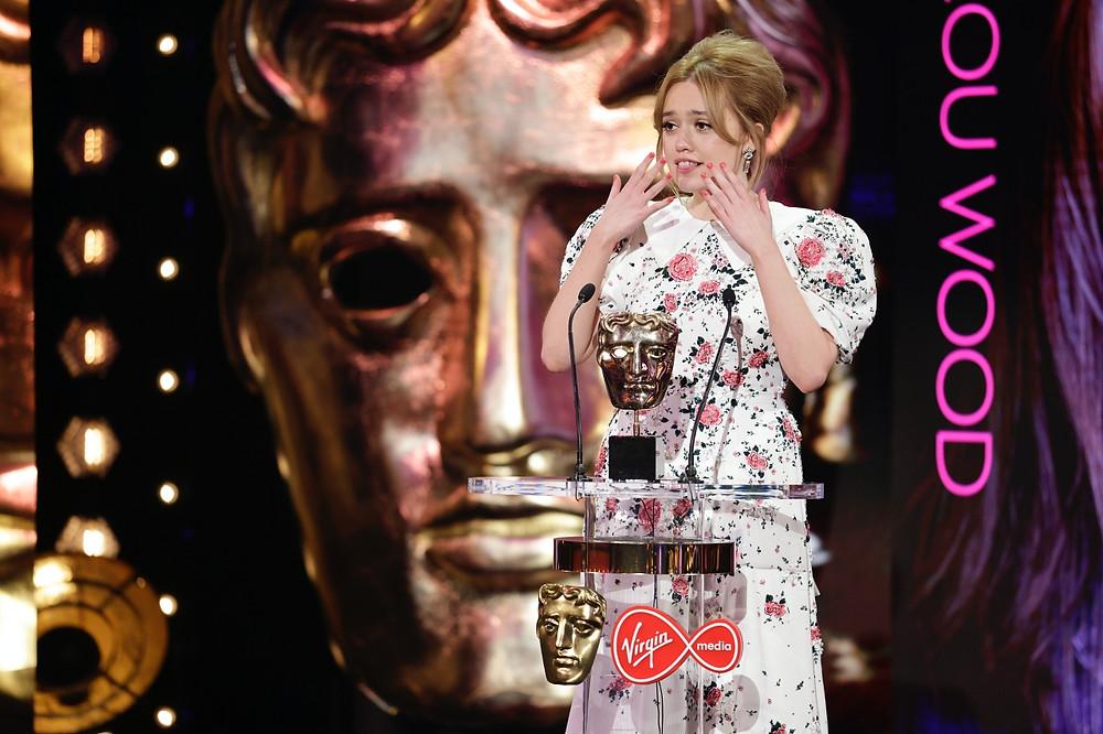 Aimee Lou Wood  © BAFTA/Guy Levy